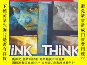 二手書博民逛書店THiNK罕見( A2) STUDENT S BOOK +WORKBOOK(2冊合售,詳見圖,書內有筆記)Y2