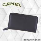 【CAMEL】男用長夾 進口牛皮 手機護...