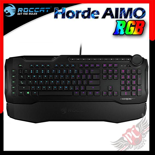 [ PC PARTY ] 德國冰豹 ROCCAT Horde Aimo RGB 薄膜式鍵盤 中文