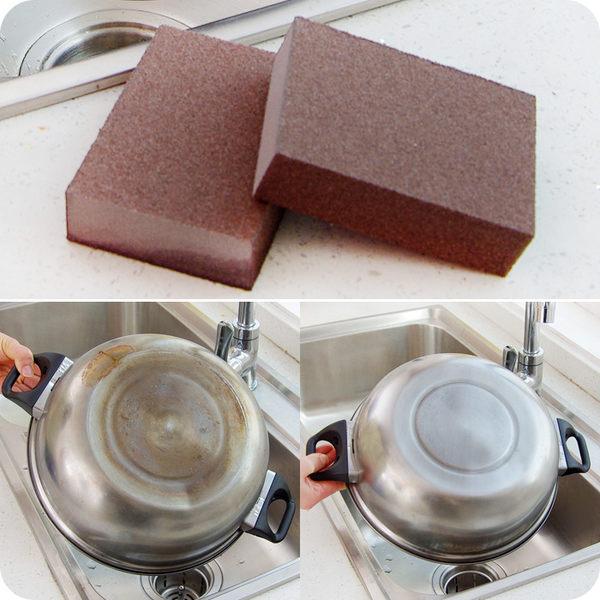 納米金剛砂神奇海綿擦 除垢魔術清潔海綿 鍋底鐵銹魔力擦去污綿擦