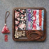 三角手工縫制小香包diy材料包