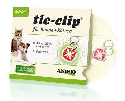 *KING WANG*【ANBIO 德國家醫寵物保健系統】tic-clip 驅蟲魔力磁-有效物理性驅離跳蚤與壁蝨
