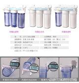 淨水器自來水凈水器 10寸三級過濾器 家用廚房前置三胞胎除泥沙余氯igo 全館免運