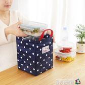 加厚提裝飯盒袋的手提包帶飯鋁箔防水包包保溫包小大號便當盒袋子 魔方數碼館