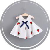 寶寶洋裝女嬰衣服夏季女寶裙子純棉長裙百褶裙 全館免運