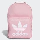 adidas 後背包 Women Originals Trefoil Backpack 粉紅 白 女款 經典款 三葉草 【PUMP306】 DJ2173