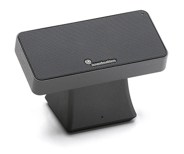 『 soundmatters Moment 』迷你磁吸式藍牙音響/藍芽喇叭/碳纖維單體/支援無線充電/磁充背板