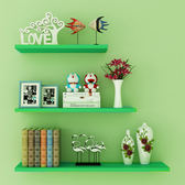 墻壁 書架墻上置物架一字隔板儲物架墻面擱板壁掛客廳裝飾層板WY  限時八折 最后一天