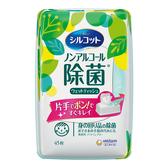 絲花無酒精除菌濕巾盒裝45片【康是美】