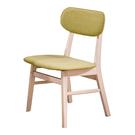 【森可家居】凱夫洗白綠色布餐椅 8HY4...