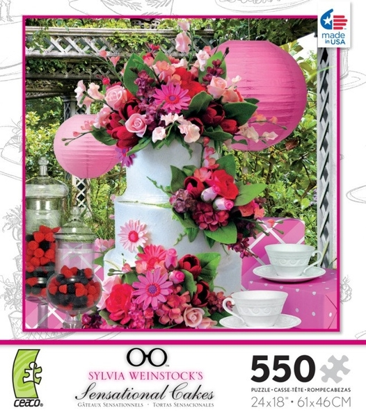 【KANGA GAMES】拼圖 甜美風蛋糕 Sylvia Weinstock's - Sensational Cakes 550片