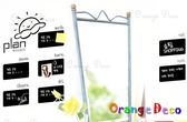 壁貼【橘果設計】日期 創意塗鴉黑板貼 60x90cm 贈高品質無灰粉筆10支(5白5彩) 刮板 水平儀
