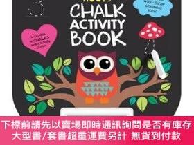 二手書博民逛書店罕見原版 貓頭鷹的黑板書 英文原版 Hoot s Chalk Activity BoY454646 Rowen