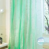 浴簾 防水PEVA柔軟衛生間門簾遮擋推薦 5色