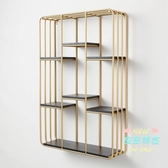 壁櫃 實木牆上置物架客廳鐵藝書架壁掛一字隔板臥室牆牆面裝飾層架T