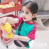 女童t恤夏女寶寶夏裝2018新款小兒童夏季短袖上衣洋氣半袖童裝3歲-奇幻樂園