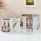 仿真書 現代簡約道具裝飾品擺件家居創意北歐風格裝飾書殼擺設