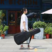 虧本促銷-加厚後背民謠吉他包背包琴包36/38/39/40/41寸古典木吉它袋吉他套
