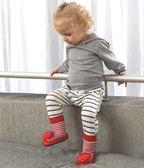 0-6-12個月嬰兒鞋襪寶寶0-1歲兒童學步地板鞋襪防滑春秋軟底厚底第七公社