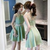 夜店女裝性感氣質夏季裙子吊帶露肩露背小心機洋裝短裙 港仔會所