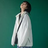 防曬衣女夏季薄款2021新款冰絲學生韓版寬鬆長袖鹽系開衫百搭外套 【Ifashion】