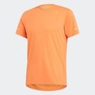 ADIDAS CHILL TEE M 男裝 短袖 慢跑 訓練 涼感 排汗 透氣 舒適 橘【運動世界】FL8579