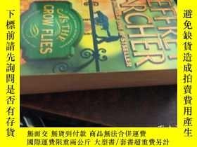 二手書博民逛書店AS罕見THE CROW FLIES(像烏鴉飛,36開英文原版)