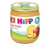 HiPP喜寶  有 機陽光綜合水果泥125g[衛立兒生活館]