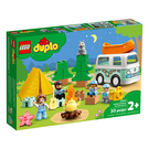 LEGO 樂高 Duplo 得寶系列 10946 家庭號冒險露營車 【鯊玩具Toy Shark】