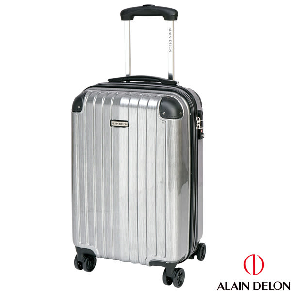 ALAIN DELON 亞蘭德倫 20吋 頂級奢華系列二代 登機箱(紳士銀灰)