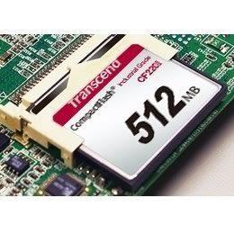 創見 記憶卡 【TS512MCF220I】 512MB 220X CF工業卡 耐震耐高溫 新風尚潮流