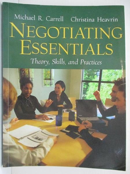 【書寶二手書T2/大學社科_DSK】Negotiating Essentials_Cram101 Textbook Reviews