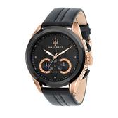 【Maserati 瑪莎拉蒂】/經典三眼錶(男錶 女錶 手錶 Watch)/R8871612025/台灣總代理原廠公司貨兩年保固
