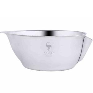 PUSH!廚房用品304不銹鋼濾油器隔油壺隔油碗油水分離器D135