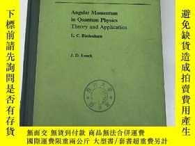 二手書博民逛書店angular罕見momentum in quantum phy