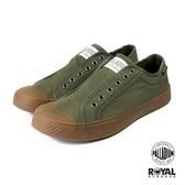 Palladium 新竹皇家 Pallaphoenix 軍綠色 帆布 復古 套入 休閒鞋 男女款 NO.B0653