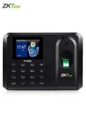 考勤機 ZKTeco/中控智慧V1000指紋打卡機考勤機指紋打卡器員工手指識別 莎瓦迪卡