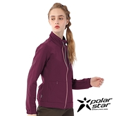 【PolarStar】女 內刷毛保暖外套『酒紅』P20206 上衣 休閒 戶外 登山 冬季 保暖 禦寒 保暖