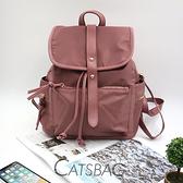 Catsbag|防潑水普拉尼龍後背包|CG1011