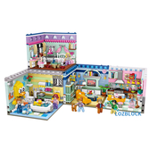 LOZ 迷你鑽石小積木 家居系列1 客廳 臥室 廚房 浴室 益智玩具 原廠正版
