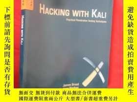 二手書博民逛書店Hacking罕見with Kali: Practical Pe