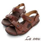【La new outlet】雙密度氣墊涼鞋(男222055100)