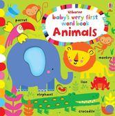 Baby's Very First Play Book Animal Words 小寶貝的第一本單字書:動物篇 精裝硬頁書