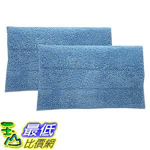 [106美國直購] 2 HAAN SI-25 Washable Micro-Fiber Blue Steam Mop Pads fits HAAN SI-25, SI-40, SI-60, SI-70, SI-35