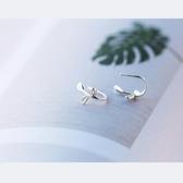 愛洛奇耳釘女耳夾耳環耳飾S925銀小清新氣質韓國個性簡約耳鉤花勾 韓小姐