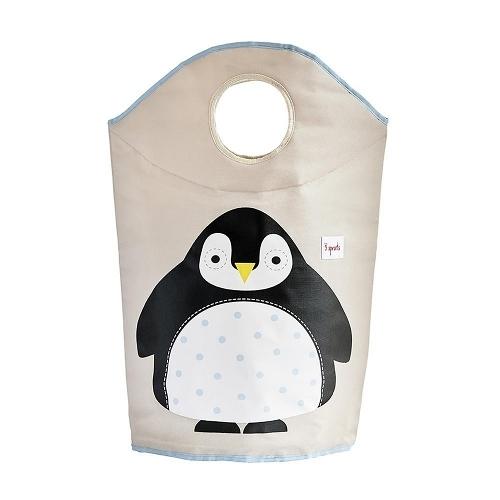 加拿大 3 Sprouts 企鵝洗衣籃 新上市