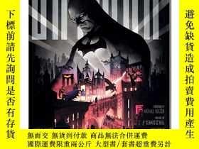 全新書博民逛書店Batman蝙蝠俠:暗夜騎士 收錄蝙蝠俠標誌性故事時刻 完整圖解集 漫畫電影歷史設定