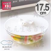 【九元生活百貨】日本製 雪白豬矽膠鍋蓋/17.5cm 碗蓋 保鮮蓋 日本直送