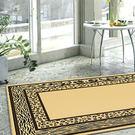 【范登伯格進口地毯】拉斯狂野絲質地毯/地墊/門墊/玄關墊-水波紋70x105cm