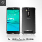 【默肯國際】 Metal Slim  ASUS ZenFone Go (ZB552KL) 透明TPU空壓殼 防摔 軟殼 手機保護殼 清水套 果凍套